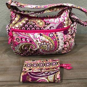 FINAL PRICE Vera Bradley Shoulder Handbag w/Wallet